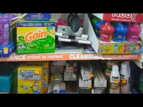 EPIC - Tips For Shopping Dollar General Clearance Sale Additional 50% Clearanced Price