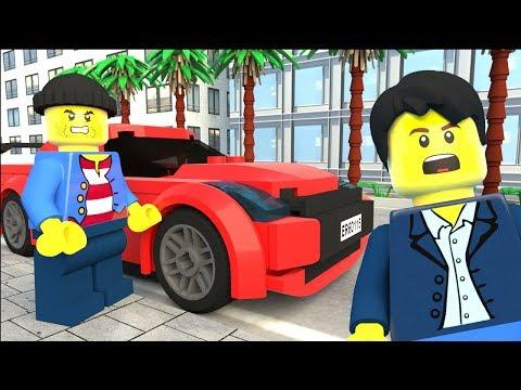 LEGO Car Robbery - Funny LEGO Movie (2018)