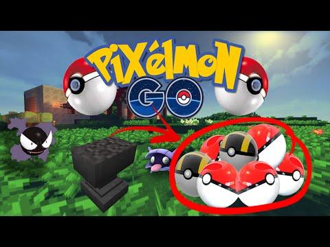 HOW TO MAKE POKEBALLS! - Pixelmon GO #3 (Pokemon GO mod)