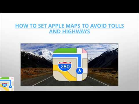 How to Set Apple Maps to Avoid Tolls?