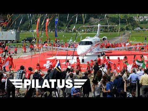Pilatus Aircraft Ltd - PC-24 Rollout Event
