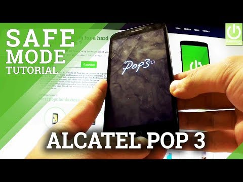 Safe Mode in ALCATEL OneTouch Pop 3 - Enter / Quit Safe Mode