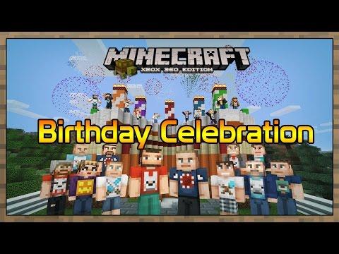 Minecraft Xbox 5th Birthday Celebration Video