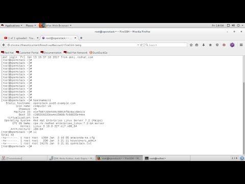 RedHat: SSH using browser