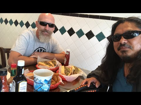 LUNCH WITH TOM AT GIORGINO's BEST CHEESESTEAKS IN TOWN RESTAURANT - #GoodMorning 156 Vlog