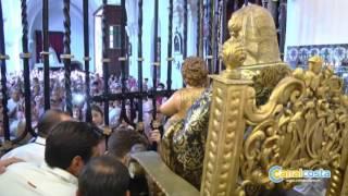Lepe se vuelca con el traslado de la Bella al altar mayor