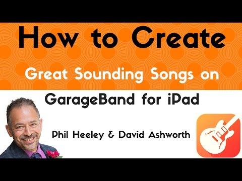 Using iPad To Write Songs With GarageBand Tutorial For iPad