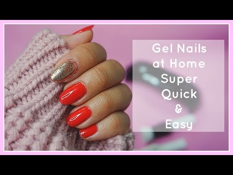 How To Do Gel Nails at Home Using GelTouch !!