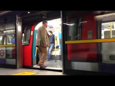 London Waterloo Underground Tube Station