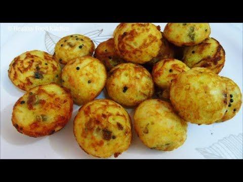 Semiya Kuzhi Paniyaram Recipe - Kuli Paniyaram Recipe - Vermicelli Paniyaram Recipe