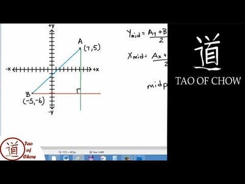 Finding the MidPoint of a Line Segment