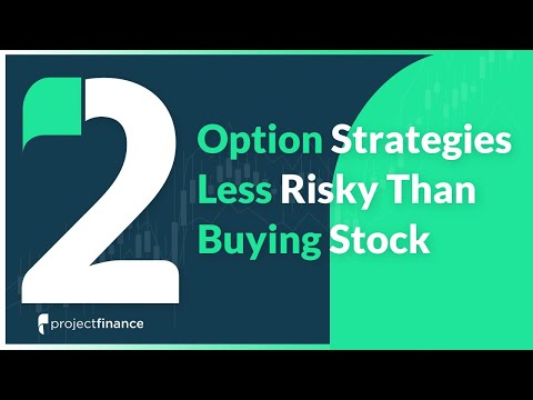 Two Option Strategies Less Risky Than Buying Stock