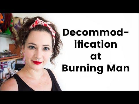 Decommodification at Burning Man