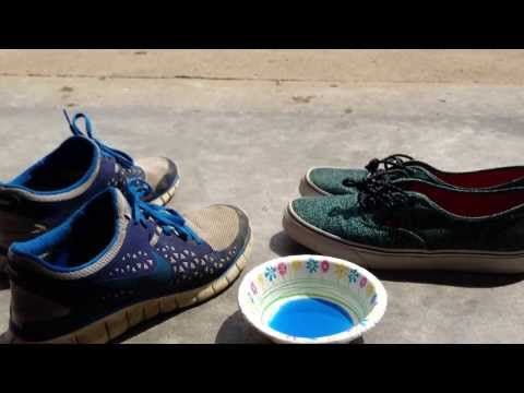 Homemade shoe cleaner (easy tutorial) PART 1