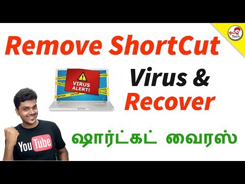 How to Remove ShortCut Virus & Recover Files (Easily) | Tamil Tech