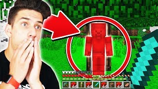 FINDING RED STEVE IN MINECRAFT! *NOT CLICKBAIT*