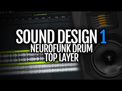 How to make Neurofunk Drum & Bass drum top layer - Sound Design Saturday