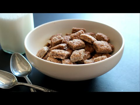 Homemade Cinnamon Toast Crunch Cereal Recipe Video