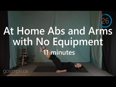 An At Home Arms and Abs Interval Workout to Burn Calories and Create the Beach Body You Want