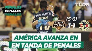 ¡América a semifinales! La tanda de penales contra el Houston Dynamo