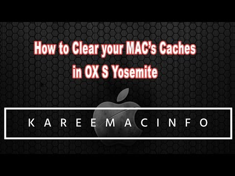 How to Clear your Mac's caches in OX S Yosemite