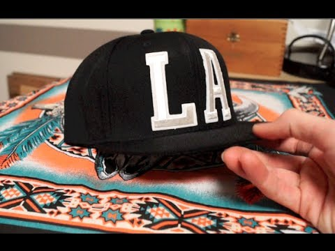 How to Make a Custom LA Snapback Tutorial! DIY