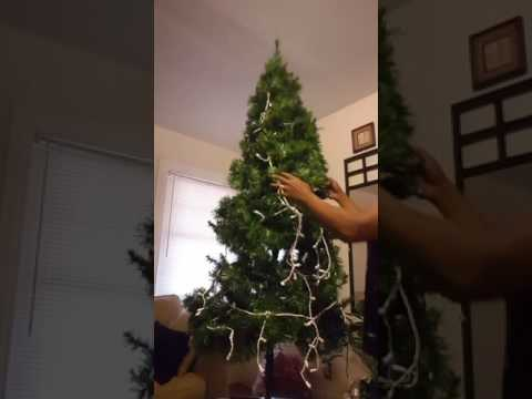 How to make a fuller Christmas Tree...
