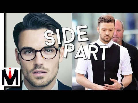 How to Choose & Wear A Side Part | Make Your Face More Symmetrical Guide