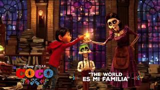 """The World Es Mi Familia"" Song Snippet - Disney/Pixar"