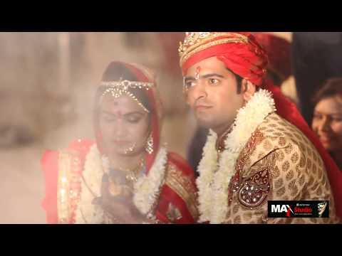 AYUSH & BHAVYA WEDDING HIGLIGHTS BY MAX STUDIO