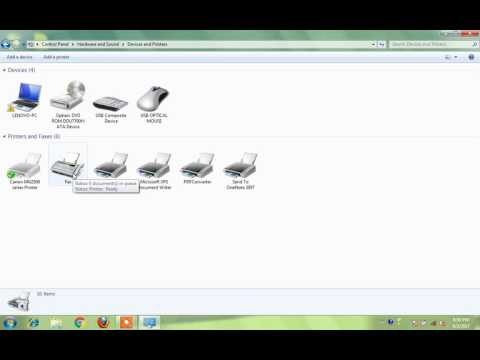 How to Change Printer Settings on Windows 7