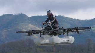 new behindthescenes video of the flying kitty hawk machine shows what its like to learn to fly it