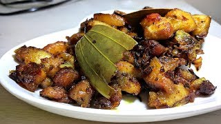 Pork Garlic Fry Mangalorean Recipe   Pork Garlic Fry Mangalore Style