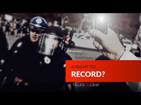 Do you have the right to RECORD Police?