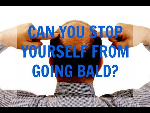 Male Pattern Baldness - Can You Stop Yourself From Going Bald?