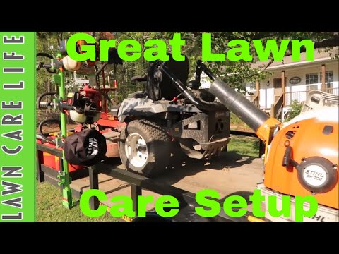 Lawn Care Equipment Setup and Review