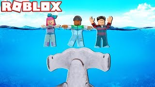 HAMMERHEAD SHARK ATTACK IN ROBLOX