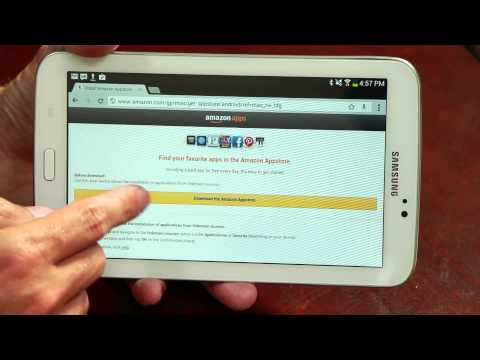 How to Install a Kindle App APK File on an Android Tablet : Important Android Tips