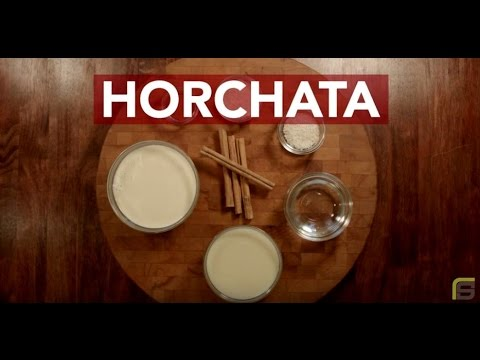 Horchata with Chef Richard Sandoval