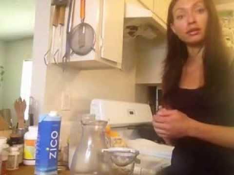 Leda Lum's apothecary coconut water kefir