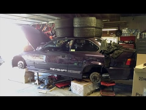 BMW E36 M3 LS6 T56 Track Car Build Project