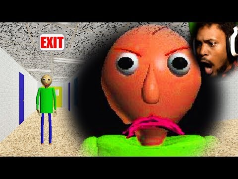 First Gameplay Back... WHAT EVEN IS THIS GAME!?   Baldi's Basics In Education and Learning