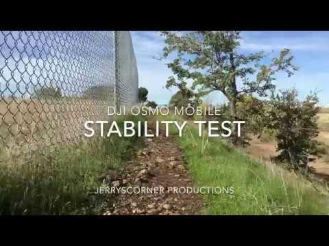DJI Osmo Mobile Walking Test w/ iPhone 6s