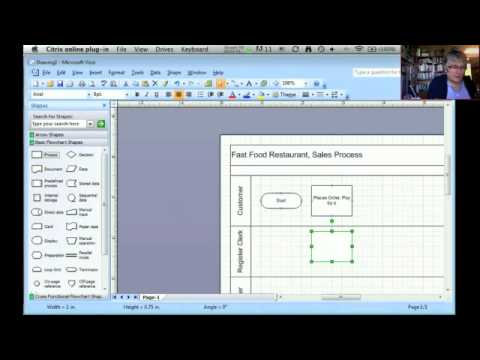 Business Process Models in Visio