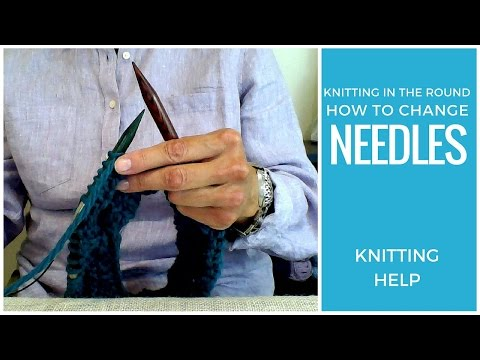 Knitting in the Round: How to Change Knitting Needles