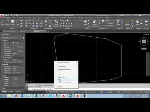 Plotting of Coordinates with AutoCAD