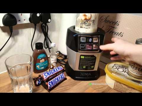 Snickers Bar Milkshake