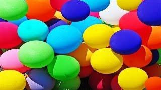 Popping 80 Surprise Balloons Pocoyo Teletubbies Disneyland Angry Birds Disney Cars Frozen Lego Dbz