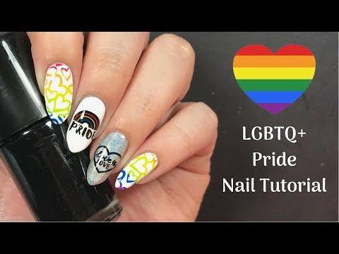 LGBTQ+ Pride Nail Tutorial!