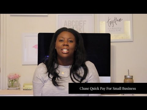 Chase Quick Pay For Small Business  | ♡ Tasha Imperfect Concepts
